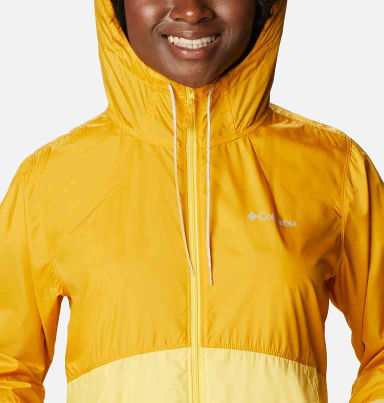 Flash Forward™ Windbreaker | 790 | L Women's Flash Forward™ Windbreaker Jacket, Bright Gold, Sun Glow, a2