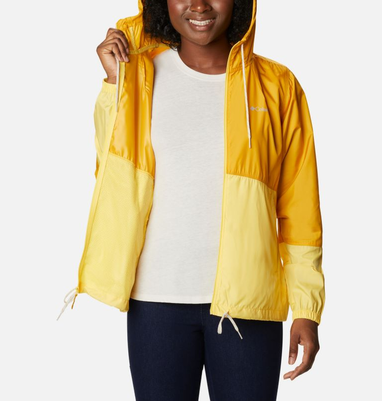 Flash Forward™ Windbreaker | 790 | L Women's Flash Forward™ Windbreaker Jacket, Bright Gold, Sun Glow, a3