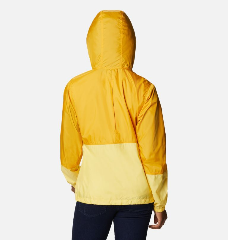Flash Forward™ Windbreaker | 790 | L Women's Flash Forward™ Windbreaker Jacket, Bright Gold, Sun Glow, back