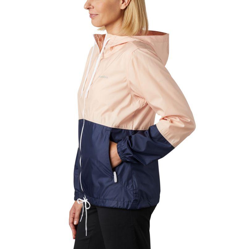 Flash Forward™ Windbreaker | 870 | XS Women's Flash Forward™ Windbreaker Jacket, Peach Cloud, Nocturnal, a1