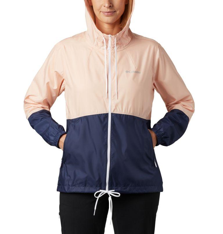Flash Forward™ Windbreaker | 870 | XS Women's Flash Forward™ Windbreaker Jacket, Peach Cloud, Nocturnal, a2