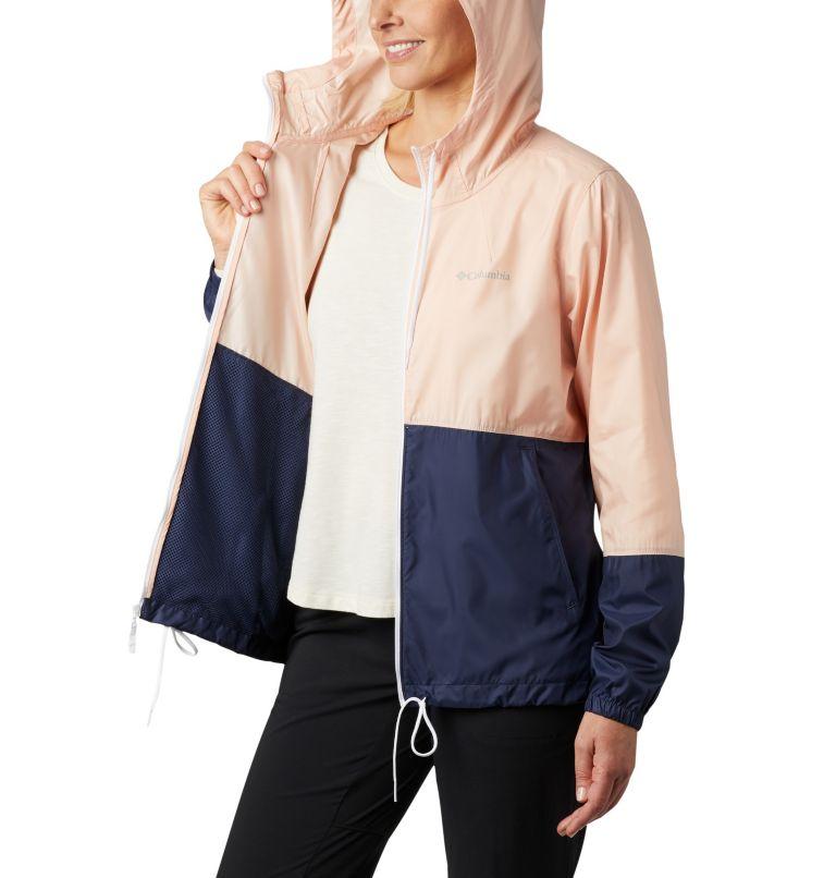 Flash Forward™ Windbreaker | 870 | XS Women's Flash Forward™ Windbreaker Jacket, Peach Cloud, Nocturnal, a3