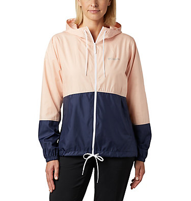 Women's Flash Forward™ Windbreaker  Flash Forward™ Windbreaker | 010 | XS, Peach Cloud, Nocturnal, front
