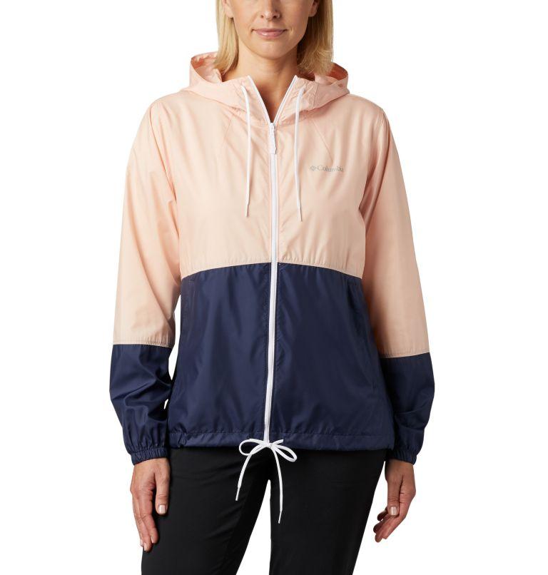 Flash Forward™ Windbreaker | 870 | XS Women's Flash Forward™ Windbreaker Jacket, Peach Cloud, Nocturnal, front