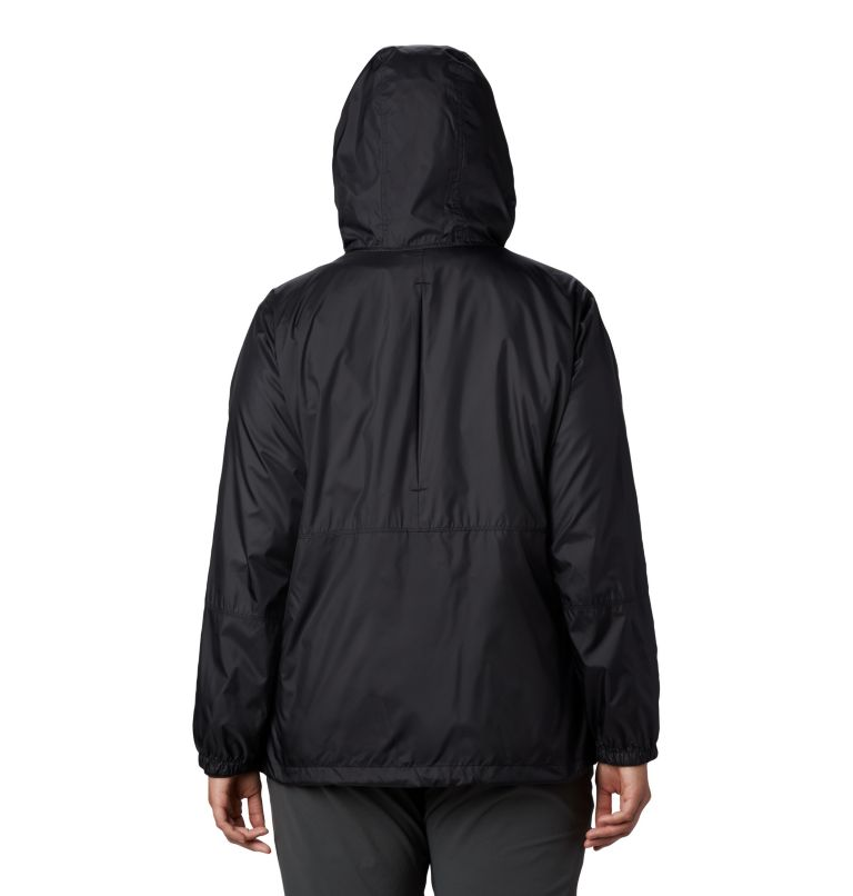 Women's Flash Forward™ Windbreaker Jacket - Plus Size Women's Flash Forward™ Windbreaker Jacket - Plus Size, back