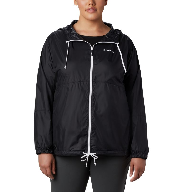 Women's Flash Forward™ Windbreaker Jacket - Plus Size Women's Flash Forward™ Windbreaker Jacket - Plus Size, front