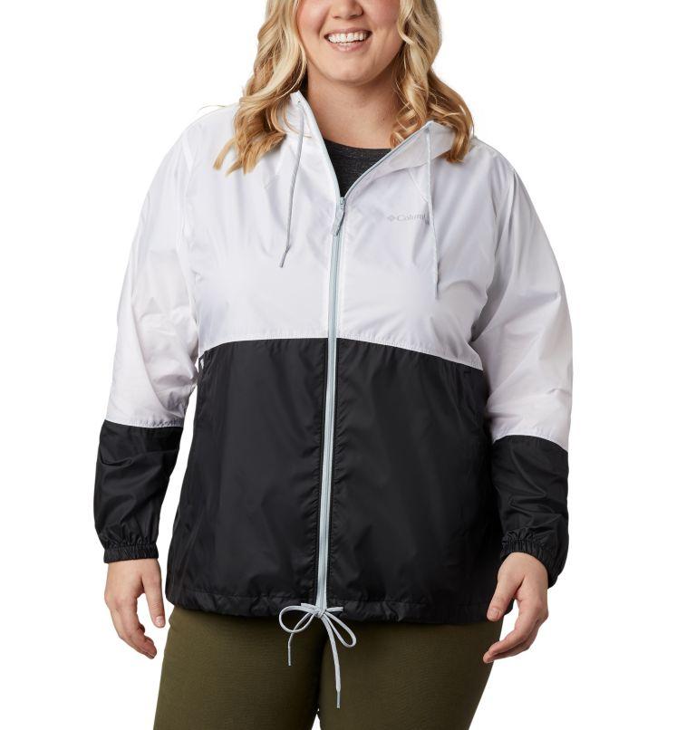 Women's Flash Forward™ Windbreaker Jacket - Plus Size Women's Flash Forward™ Windbreaker Jacket - Plus Size, front