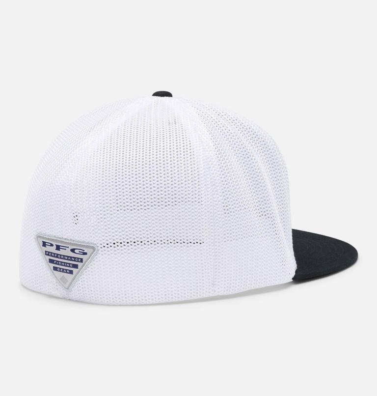 PFG Mesh™ Flat Brim Ball Cap | 014 | L/XL PFG Mesh™ Flat Brim Ball Cap, Black, PFG Hook Patch, back