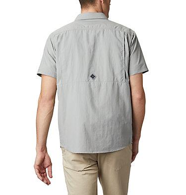 Men's Cascades Explorer™ Short Sleeve Shirt Cascades Explorer™ Short Sleev   100   L, Columbia Grey, back