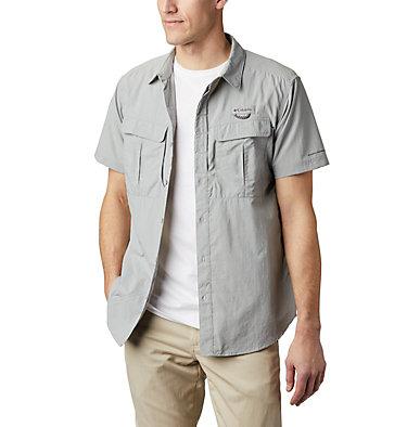 Men's Cascades Explorer™ Short Sleeve Shirt Cascades Explorer™ Short Sleev   100   L, Columbia Grey, front