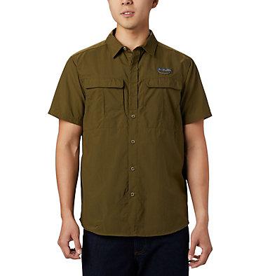 Men's Cascades Explorer™ Short Sleeve Shirt Cascades Explorer™ Short Sleev   100   L, New Olive, front