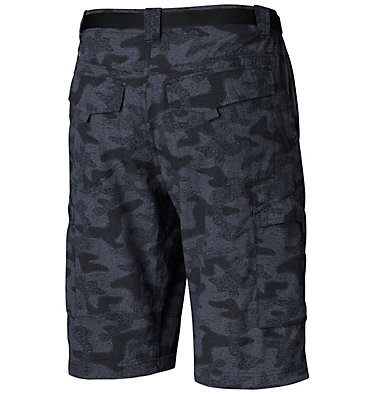 Men's Silver Ridge™ Printed Cargo Shorts Silver Ridge™ Printed Cargo Sh | 012 | 28, Black Heather Camo Print, back