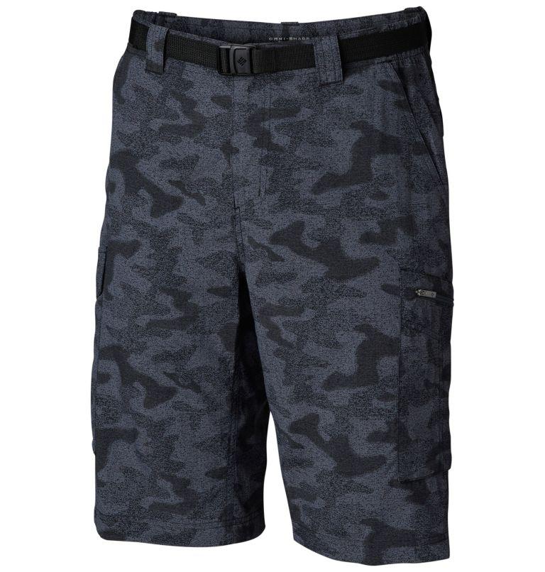 Silver Ridge™ Printed Cargo Sh | 012 | 34 Men's Silver Ridge™ Printed Cargo Shorts, Black Heather Camo Print, front