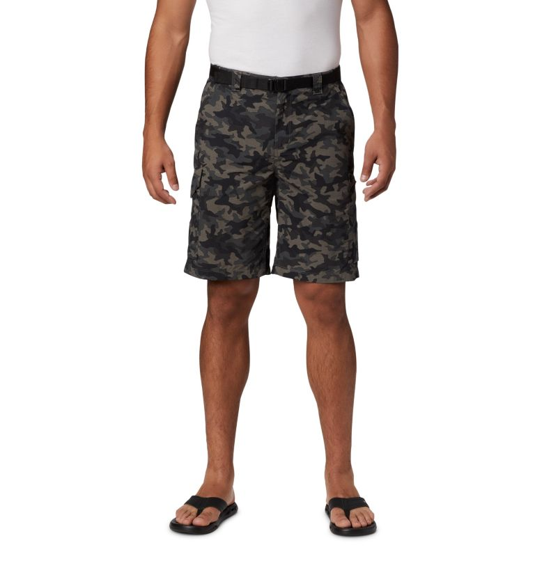 Men's Silver Ridge™ Printed Cargo Shorts Men's Silver Ridge™ Printed Cargo Shorts, front