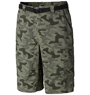 Men's Silver Ridge™ Printed Cargo Shorts Silver Ridge™ Printed Cargo Sh | 012 | 28, Cypress Heather Camo Print, front