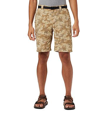 Men's Silver Ridge™ Printed Cargo Shorts Silver Ridge™ Printed Cargo Short | 318 | 28, Fossil Camo, front