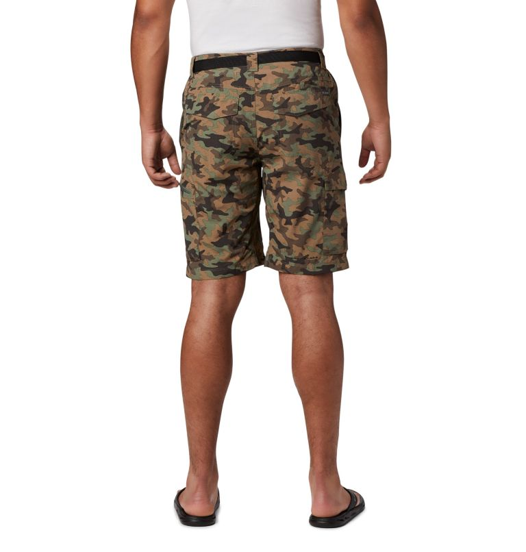 Men's Silver Ridge™ Printed Cargo Shorts Men's Silver Ridge™ Printed Cargo Shorts, back