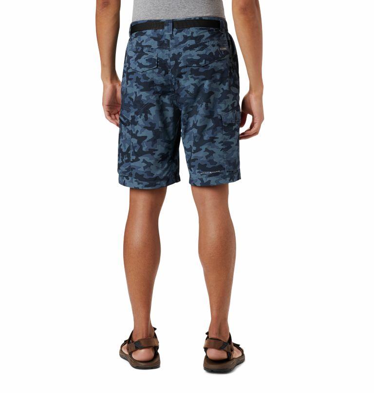 Silver Ridge™ Printed Cargo Short | 466 | 36 Men's Silver Ridge™ Printed Cargo Shorts, Collegiate Navy Camo, back