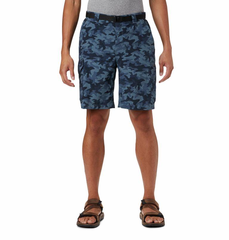 Silver Ridge™ Printed Cargo Short | 466 | 36 Men's Silver Ridge™ Printed Cargo Shorts, Collegiate Navy Camo, front