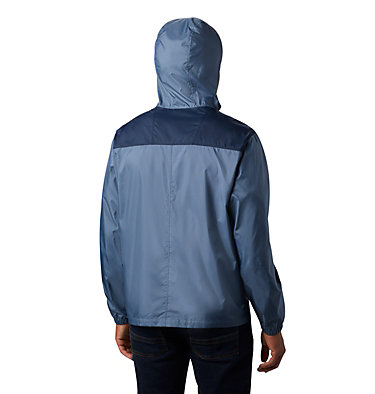 Men's Flashback™ Windbreaker Jacket Flashback™ Windbreaker | 442 | L, Mountain, Collegiate Navy, back