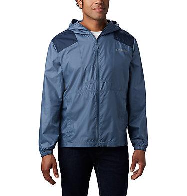 Men's Flashback™ Windbreaker Jacket Flashback™ Windbreaker   442   L, Mountain, Collegiate Navy, front
