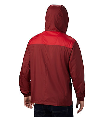 Men's Flashback™ Windbreaker Jacket Flashback™ Windbreaker | 442 | L, Red Jasper, Mountain Red, back