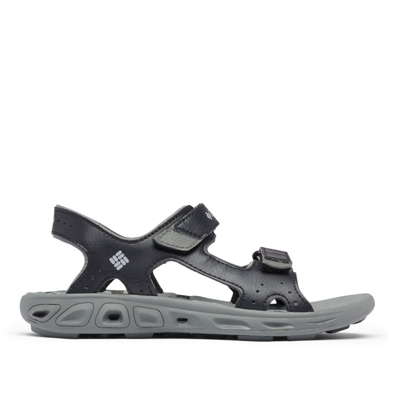 YOUTH TECHSUN™ VENT | 010 | 4 Youth Techsun™ Vent Sandal, Black, Columbia Grey, front