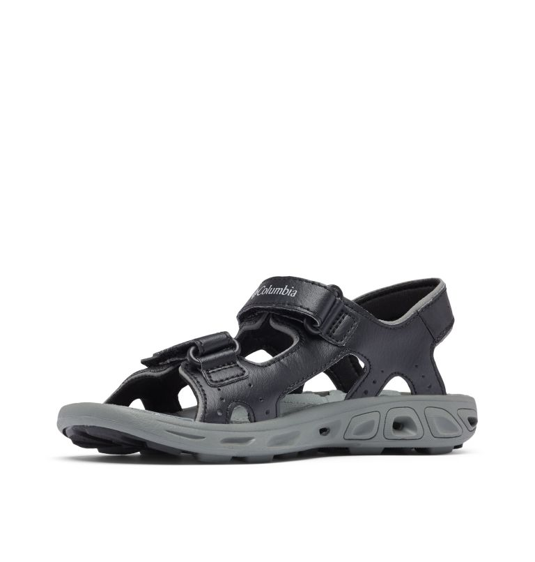 YOUTH TECHSUN™ VENT | 010 | 4 Youth Techsun™ Vent Sandal, Black, Columbia Grey