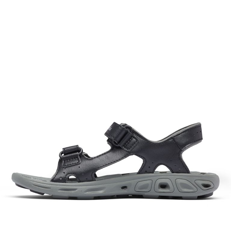 YOUTH TECHSUN™ VENT | 010 | 4 Youth Techsun™ Vent Sandal, Black, Columbia Grey, medial