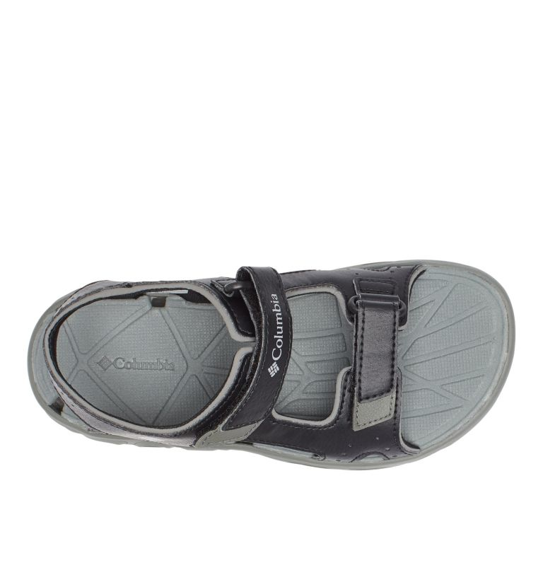 YOUTH TECHSUN™ VENT | 010 | 4 Youth Techsun™ Vent Sandal, Black, Columbia Grey, top