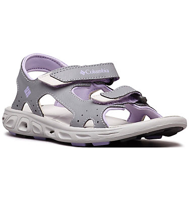 Techsun™ Vent Junior YOUTH TECHSUN™ VENT | 010 | 4.5, Tradewinds Grey, White Violet, 3/4 front
