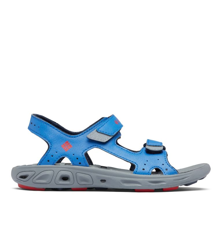 YOUTH TECHSUN™ VENT | 426 | 4 Youth Techsun™ Vent Sandal, Stormy Blue, Mountain Red, front