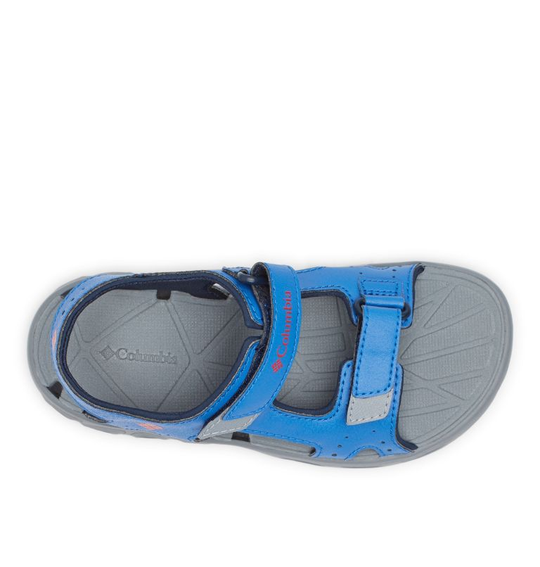 YOUTH TECHSUN™ VENT | 426 | 4 Youth Techsun™ Vent Sandal, Stormy Blue, Mountain Red, top