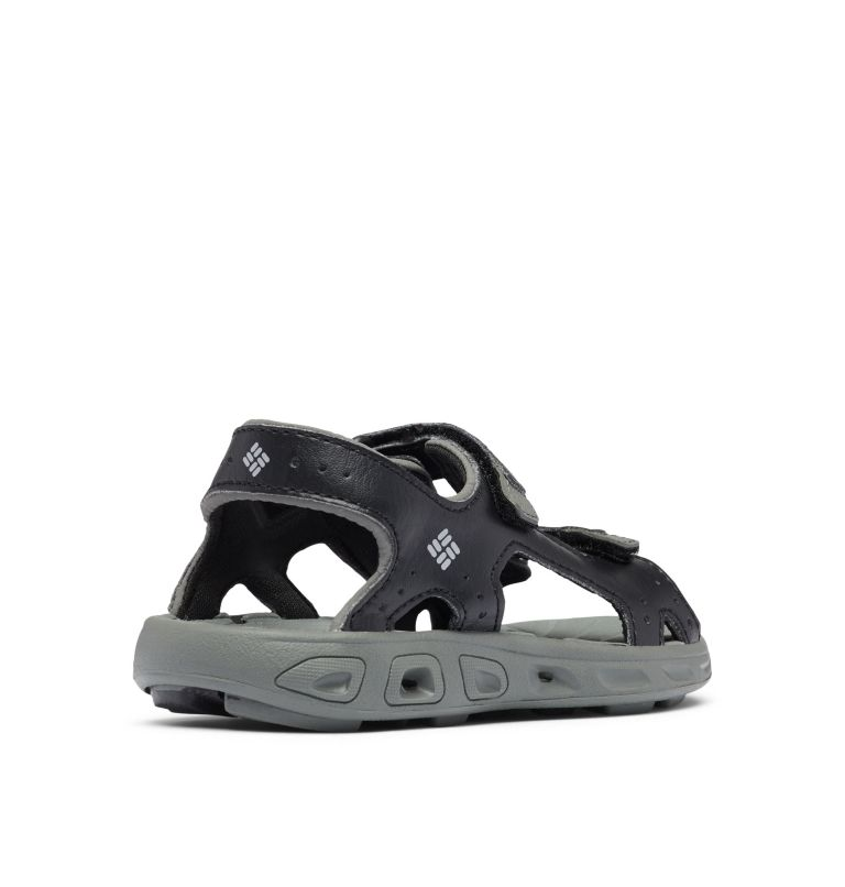 CHILDRENS TECHSUN™ VENT | 010 | 12.5 Sandalias Techsun™ para Niños, Black, Columbia Grey, 3/4 back