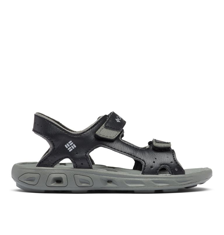 CHILDRENS TECHSUN™ VENT | 010 | 10 Kids' Techsun™ Vent Sandal, Black, Columbia Grey, front