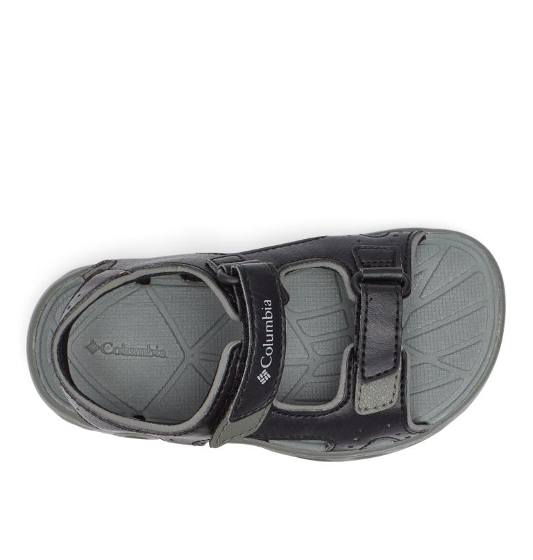 CHILDRENS TECHSUN™ VENT | 010 | 12.5 Sandalias Techsun™ para Niños, Black, Columbia Grey, top