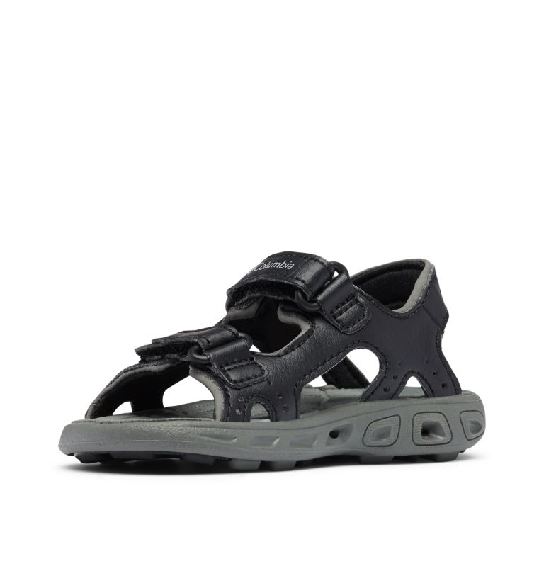 TODDLER TECHSUN™ VENT | 010 | 4 Toddler Techsun™ Vent Ankle Strap Sandal, Black, Columbia Grey