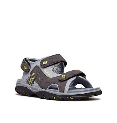 Big Kids' Castlerock™ Supreme Sandal YOUTH CASTLEROCK™ SUPREME | 032 | 1, Tradewinds Grey, Voltage, 3/4 front
