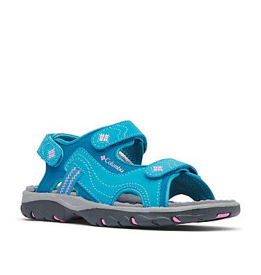 Big Kids' Castlerock™ Supreme Sandal YOUTH CASTLEROCK™ SUPREME | 032 | 1, Dark Turquoise, Orchid, 3/4 front