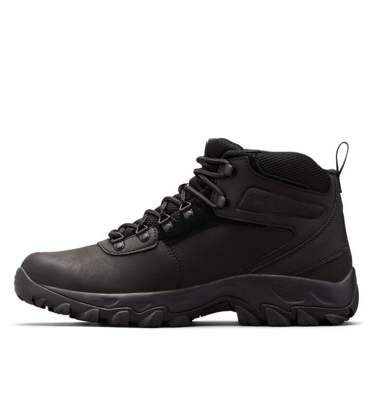 NEWTON RIDGE™ PLUS II WATERPROOF | 011 | 14 Men's Newton Ridge™ Plus II Waterproof Hiking Boot, Black, Black, medial