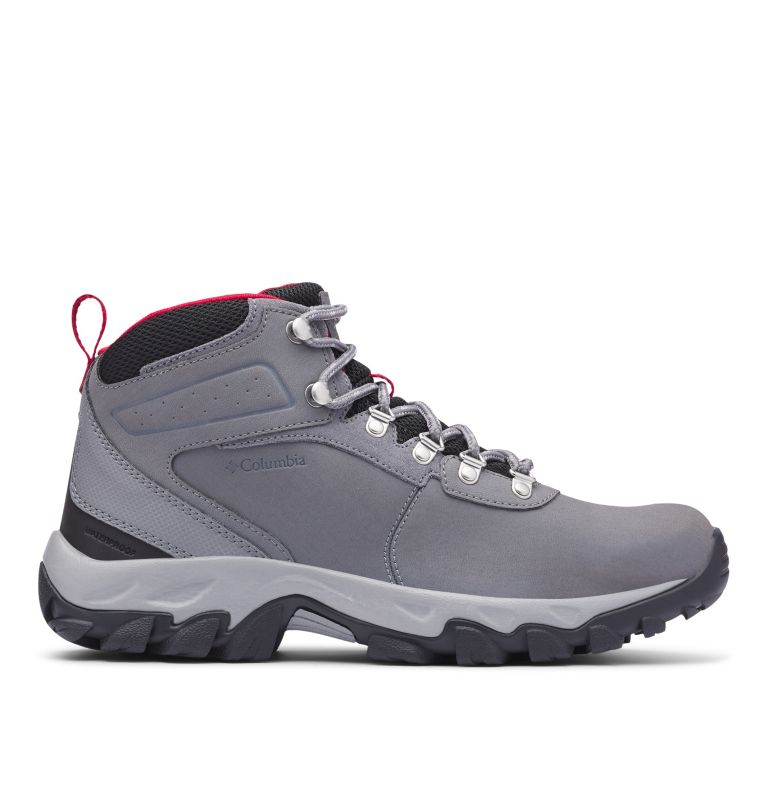 NEWTON RIDGE™ PLUS II WATERPROOF | 038 | 8.5 Men's Newton Ridge™ Plus II Waterproof Hiking Boot, Ti Grey Steel, Rocket, front