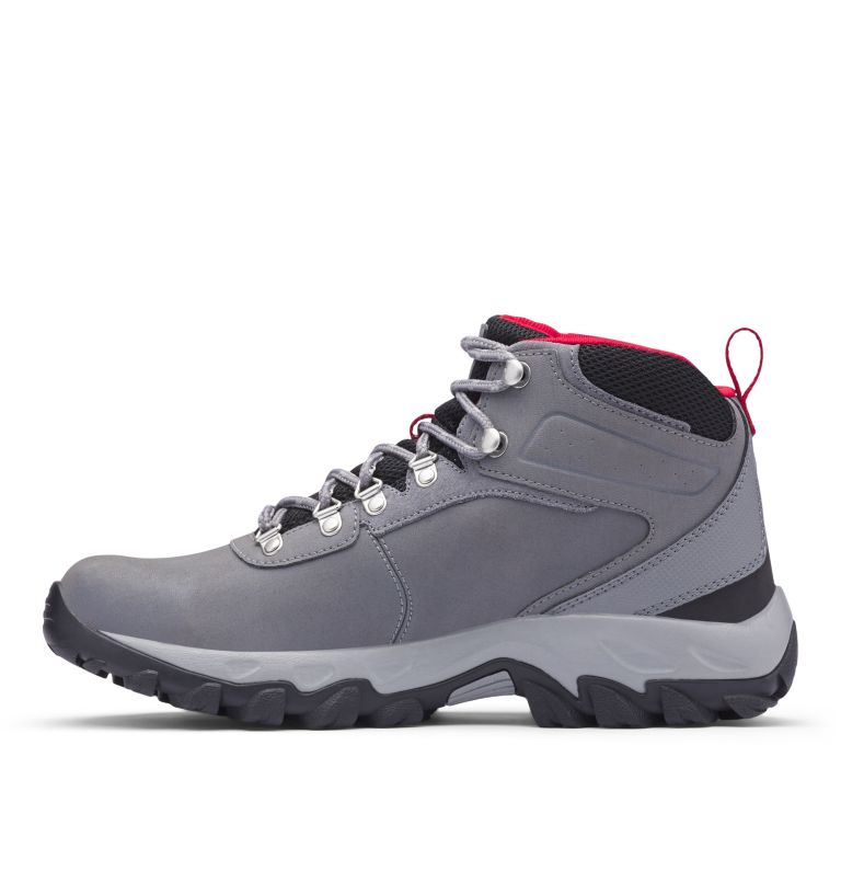 NEWTON RIDGE™ PLUS II WATERPROOF | 038 | 8.5 Men's Newton Ridge™ Plus II Waterproof Hiking Boot, Ti Grey Steel, Rocket, medial