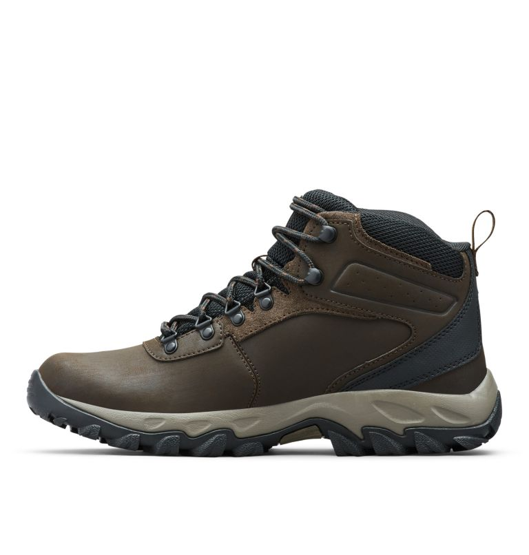 NEWTON RIDGE™ PLUS II WATERPROOF | 231 | 7 Men's Newton Ridge™ Plus II Waterproof Hiking Boot, Cordovan, Squash, medial