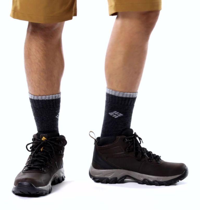 NEWTON RIDGE™ PLUS II WATERPROOF | 231 | 16 Men's Newton Ridge™ Plus II Waterproof Hiking Boot, Cordovan, Squash, video