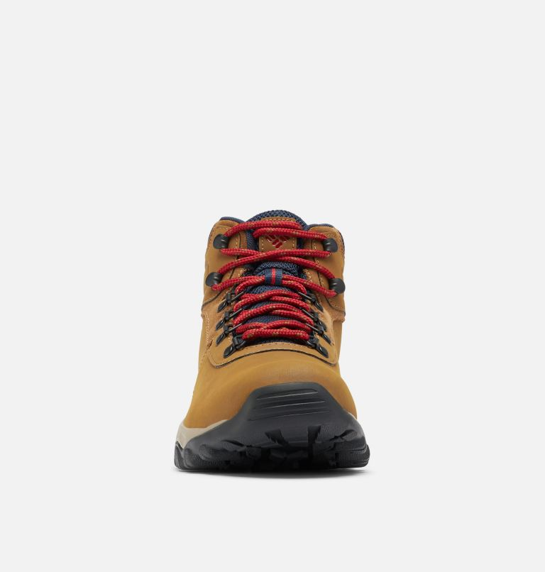 NEWTON RIDGE™ PLUS II WATERPROOF | 234 | 9 Men's Newton Ridge™ Plus II Waterproof Hiking Boot, Light Brown, Red Velvet, toe