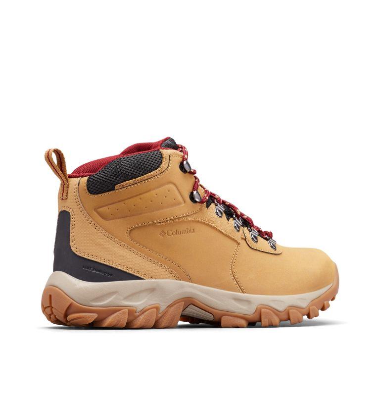 NEWTON RIDGE™ PLUS II WATERPROOF | 373 | 9 Men's Newton Ridge™ Plus II Waterproof Hiking Boot, Curry, Red Jasper, 3/4 back