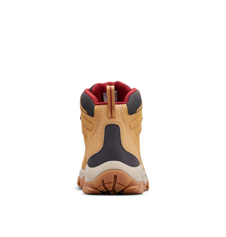 NEWTON RIDGE™ PLUS II WATERPROOF | 373 | 11 Men's Newton Ridge™ Plus II Waterproof Hiking Boot, Curry, Red Jasper, back