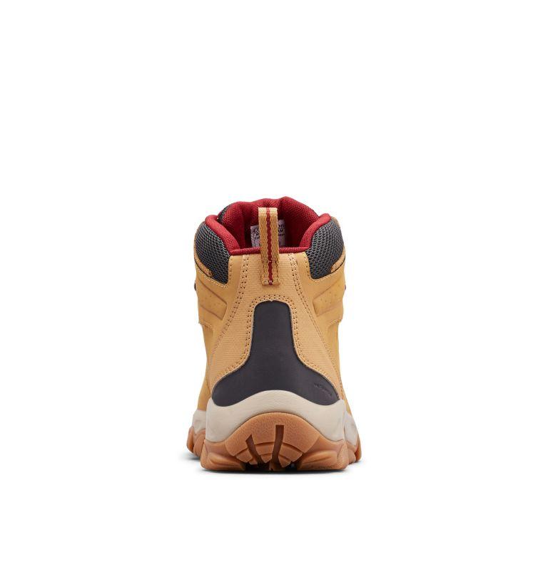 NEWTON RIDGE™ PLUS II WATERPROOF | 373 | 9 Men's Newton Ridge™ Plus II Waterproof Hiking Boot, Curry, Red Jasper, back