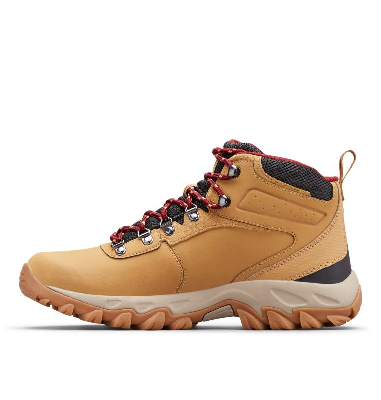 NEWTON RIDGE™ PLUS II WATERPROOF | 373 | 7.5 Men's Newton Ridge™ Plus II Waterproof Hiking Boot, Curry, Red Jasper, medial