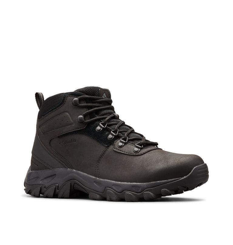NEWTON RIDGE™ PLUS II WATERPROOF WIDE | 011 | 10.5 Men's Newton Ridge™ Plus II Waterproof Hiking Boot - Wide, Black, Black, 3/4 front